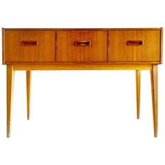 Swedish Midcentury Teak Chest of Drawers, 1960s