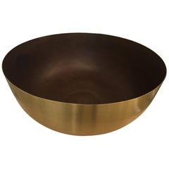 Grande Brass Centerpiece, Deep, in Stock