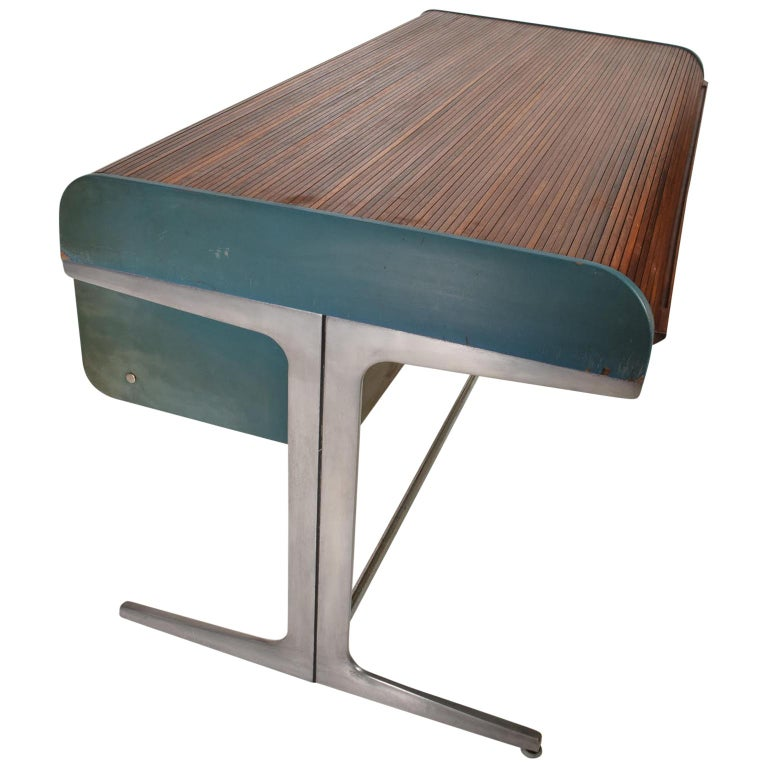 Rare Mid-Century Modern Action Desk by George Nelson Robert Propst Herman Miller For Sale