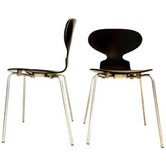 Set of 3101 Ant Chairs by Arne Jacobsen Denmark, 1970s