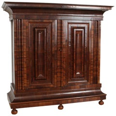 Wave Cabinet Walnut, circa 1700