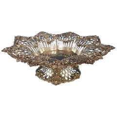 Sterling Silver Centrepiece Bowl Footed Similar to Imperial Queen Whiting
