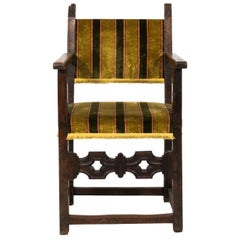 19th Century Jacobean Style Armchair