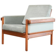 Henry Walter Klein Danish Modern Teak Easy Chair for Bramin