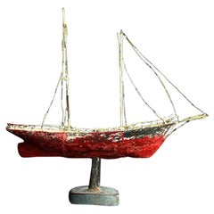 Weather Vane Ship, circa 1880