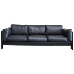 Gavina Leather Sofa Model Bastiano design Tobia & Afra Scarpa