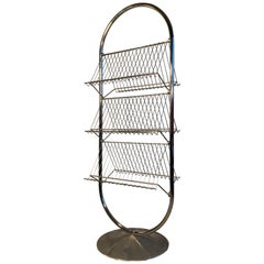 Verner Panton VP-Rack Display Rack News Rack by Fritz Hansen, Denmark