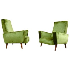 1950s French Armchairs
