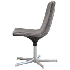 Admirable Walter Knoll White Leather Fk Bucket Chair With 3 Star Base Bralicious Painted Fabric Chair Ideas Braliciousco