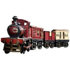 Scratch Built Model Train, circa 1930