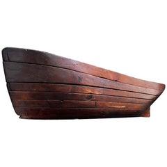 Boat Builders Hull Model, circa 1890