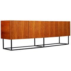 20th Century Minimalist Rosewood Sideboard