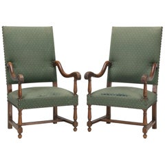 Antique Pair of French Armchairs