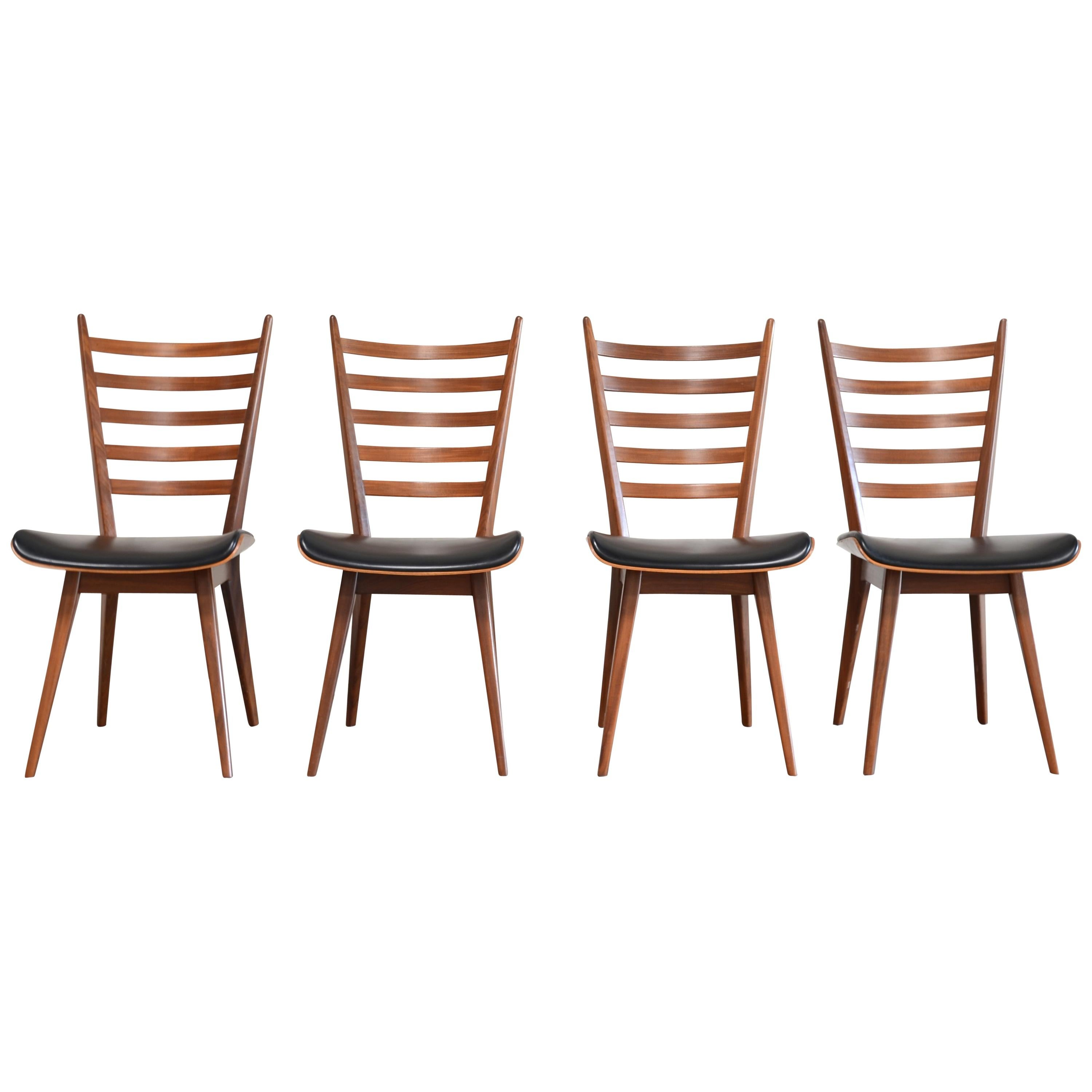 Cees Braakman 4x Dining Chairs Chair for Pastoe