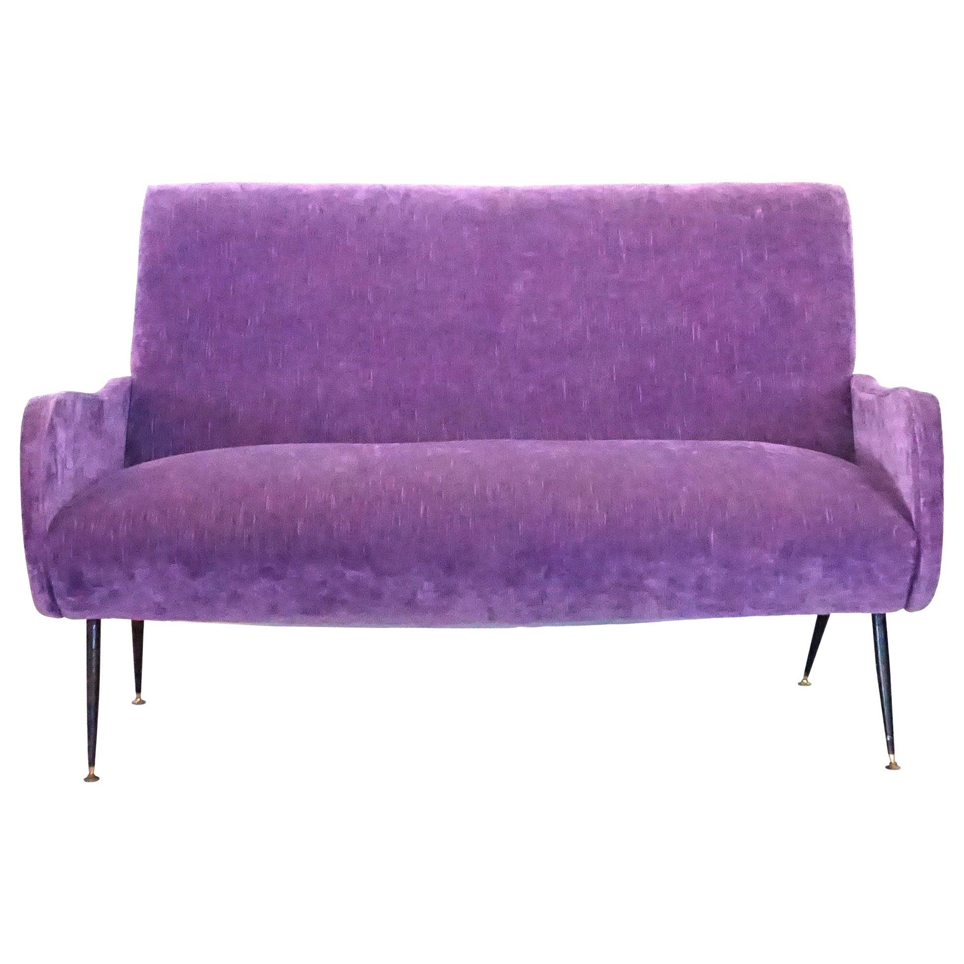 20th Century Lila Italian Small Two-Seat Sofa by Marco Zanuso