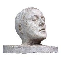 Plaster Head Statue, circa 1940