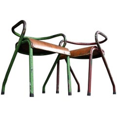 Mullca 300 Chairs by Jacques Hitier