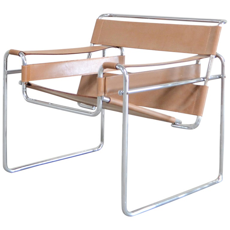Gavina Wassily Chair by Marcel Breuer For Sale