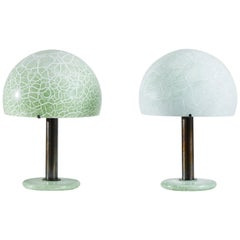 Two Model 832 Table Lamps by Venini