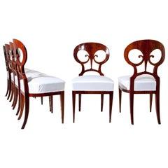 Biedermeier Chairs, Vienna, circa 1820