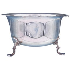 T.H. Hazelwood English Sterling Silver Waste Bowl, circa 1914
