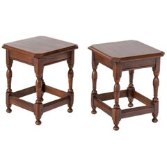Pair of Side Tables, 19th-20th Century