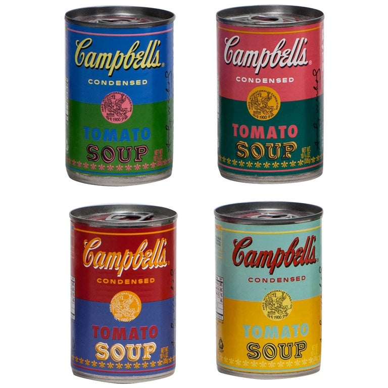 Andy Warhol Campbell's Soup Cans 50th Anniversary Limited ...