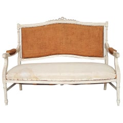 Swedish Sofa in the Gustavian Style, Late 19th Century