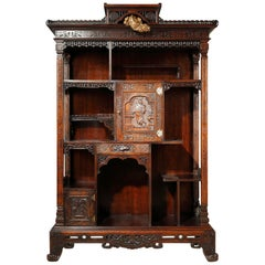 Japanese Style Cabinet Attributed to Viardot