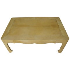 Goatskin Cocktail Table
