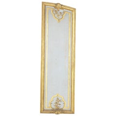 Large Early 19th Century Hand Carved, Gilded French Architectural Panel
