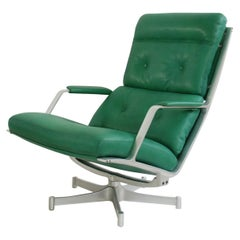 Kill International FK 85 Lounge Chair Green by Kastholm & Fabricius Kelly green