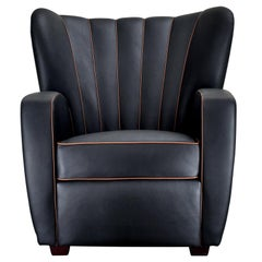 Zarina Black Armchair by Cesare Cassina by Adele-C