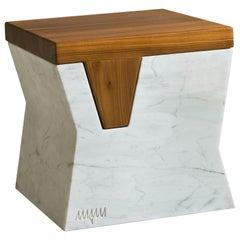 Plaza Pouf by Paolo Salvadè by MGM Marmi & Graniti