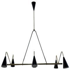 Fiftyes 3 6-Light Chandelier by Fausto Gazzi
