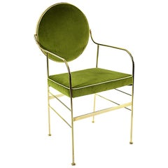 Luigina Gold and Pea Chair by Sotow