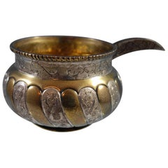 Tane Mexican Mexico Sterling Silver Cossack Kovsh Bowl Russian Influence