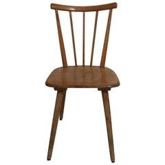 Vintage Scandinavian Bistro Chairs, circa 1950