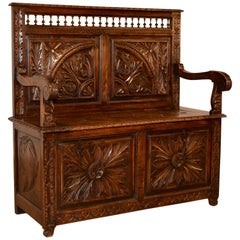 19th Century Breton Bench