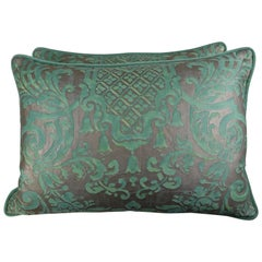 Carnavalet Patterned Fortuny Pillows, a Pair
