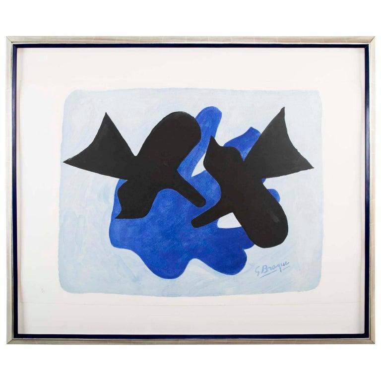 """""""L'Astre et l'Oiseau II"""" after Georges Braque"""