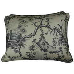 Brunschwig & Fils Printed Textile Pillows, Pair