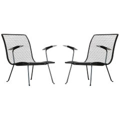 Pair of Outdoor Lounge Chairs by Karl Lightfoot Studio