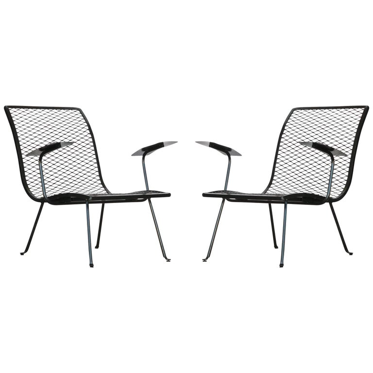 Pair of Outdoor Lounge Chairs by Karl Lightfoot Studio Circa 1950