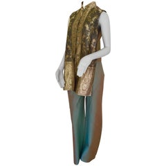 Nagara Couture for Jim Thompson 2 Pieces Silk Pants and Top