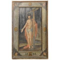 Outstanding 17th Century Italian Painting of Jesus Christ