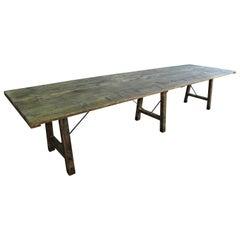 Frankreich 19. Jahrhundert Tisch Vigneron Esstisch