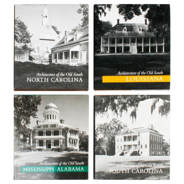 Architecture of the Old South, Four First Editions