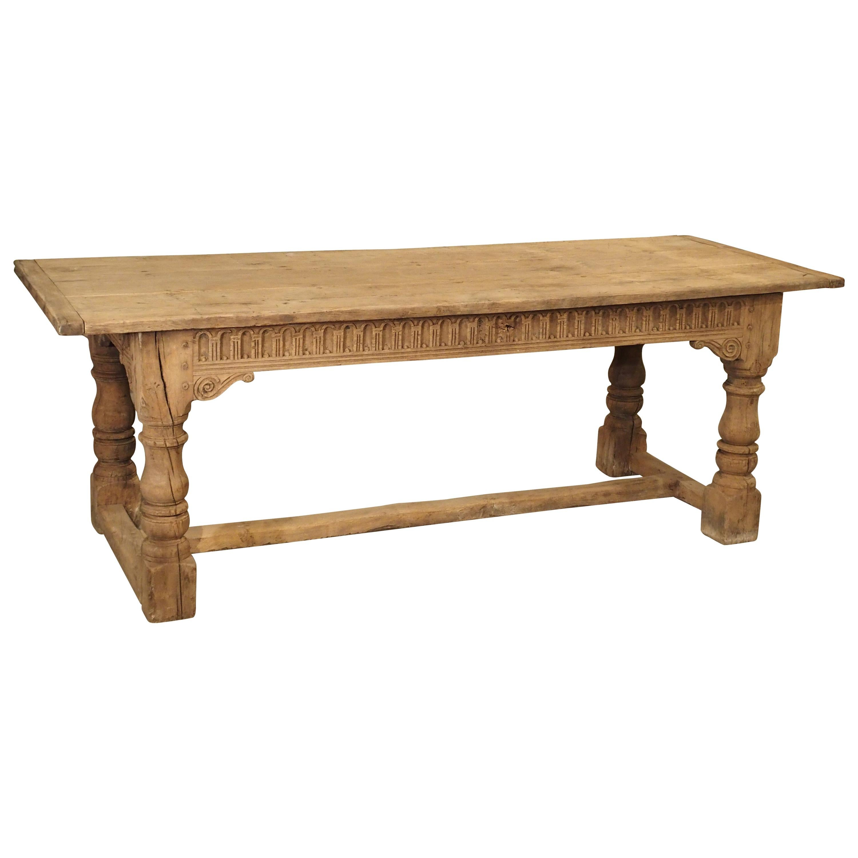 1900-1950 Furniture Oak Refrectory Table 2019 New Fashion Style Online