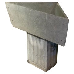 Triangular Soapstone Sink